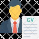 Job Cv Profile Icon