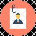 Cv Attachment Paperclip Icon
