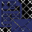 Cv Cv By Mail Cv Letter Icon