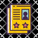 Icv Cv Biodata Icon