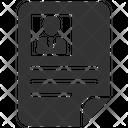 Cv Job Resume Icon