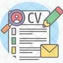 Profile Biodata Cv Icon
