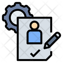 Cv Evaluation Experience Icon