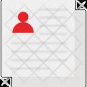 Cv Development Profile Documents Icon