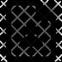 Cv File Paper Icon