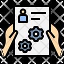 Cv Resume Certificate Icon
