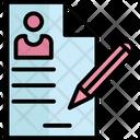 Cv Editing Pencil Icon