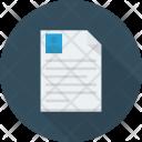 Cv Document Resume Icon