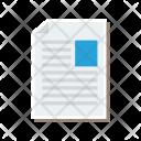 Cv Profile Letter Icon