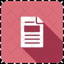 Cv File Document Icon