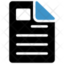 Cv File Page Icon