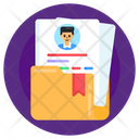 My Files Cv Folder Cv Archive Icon