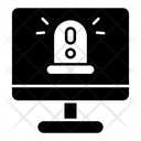 Cyber Alert Icon