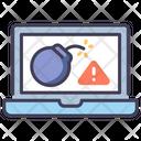 Cyber Attack Icon