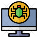 Cyber Attack Malware Antivirus Icon