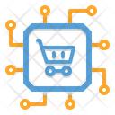 Cyber Cart Icon