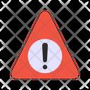Cyber Caution Icon