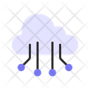 Cyber Cloud Icon