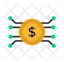 Cyber Coin Icon