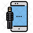 Hacker Cyber Criminal Cyber Crime Icon