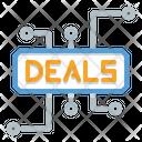 Cyber Deals Deal Deals Icon