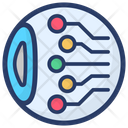 Cyber Eye Cyber Monitoring Network Monitoring Icon