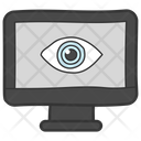 Digital Eye Cyber Eye Web Monitoring Icon