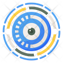 Mechanical Eye Cyber Eye Cyber Security Concept Icon