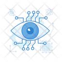 Bionic Eye Monitoring Eye Focus Icon