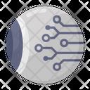 Cyber Eye Mechanical Eye Cyber Security Icon