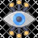 Mechanical Eye Cyber Eye Cyber Security Icon