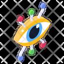 Mechanical Eye Cyber Eye Cybersecurity Icon