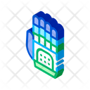 Cyber Hand Icon