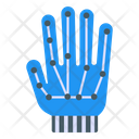 Cyber Hand Robotic Hand Mechanical Hand Icon