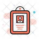 Fintech Cyber Identity Identity Document Icon