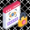 Website Cyber Identity Cyber Identity Cyber Verification Icon