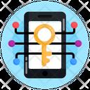 Digital Key Cyber Key Private Key Icon
