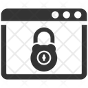 Cyber Lock Security Icon