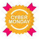Cyber Label Monday Icon