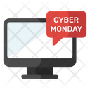 Cyber Monday Icon