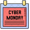 Heavy Discount Cyber Monday Shops Icon