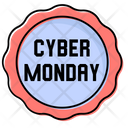 Cyber Monday November Sale Icon