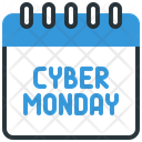 Calendar Cyber Monday Event Icon