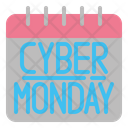Cyber Monday Black Friday Sales Icon