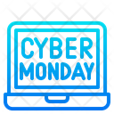 Cyber Monday Discount Sale Icon