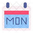 Cyber Monday Calendar Schedule Icon
