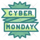 Cyber Monday Ecommerce Signaling Icon