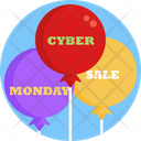 Cyber Monday Tag Label Icon