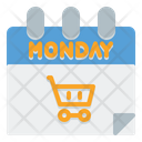 Cyber Monday Date Icon