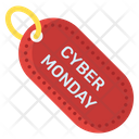 Cyber Monday Sale Offer Shopping Offer Icon